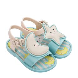 Mini-Melissa-Mar-Sandal-Sweet-Dreams-VerdeBege-Diagoanl