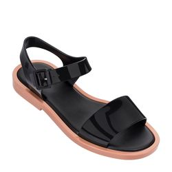 Melissa-Mar-Sandal-MarromPreto-Diagonal