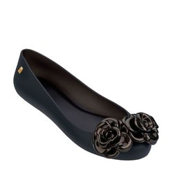 Melissa-Space-Love-Flower-PretoDourado-Diagonal