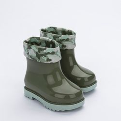 32913-Mini-Melissa-Rain-Boot-Rose-Bleu-Verde--Diagonal
