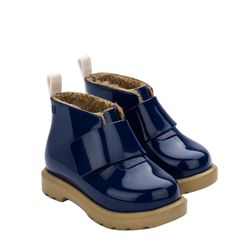 32833-Mini-Melissa-Chelsea-Boot-Bb-Azulbege-Diagonal
