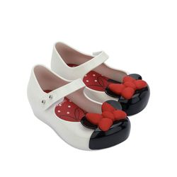 33344-Mini-Melissa-Ultragirl-Mickey-And-Friends-Baby-Brancopretovermelho-diagonal