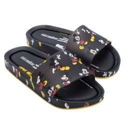 33393-51565-Mini-Melissa-Beach-Slide-Mickey-Preto-Amarelo-Diagonal