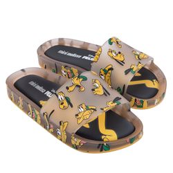 33393-54061-Mini-Melissa-Beach-Slide-Mickey-Bege-Transparente-Amarelo-Diagonal