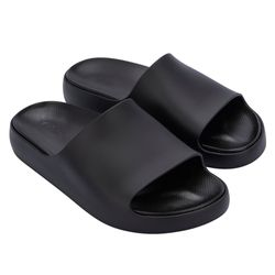 33415-01003-Melissa-Cloud-Slide-Preto-Opaco-Diagonal