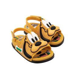 33395-51766-Mini-Melissa-Beach-Slide-Sandal-Mickey-And-Friends-BB-Amarelo-Branco-Diagonal